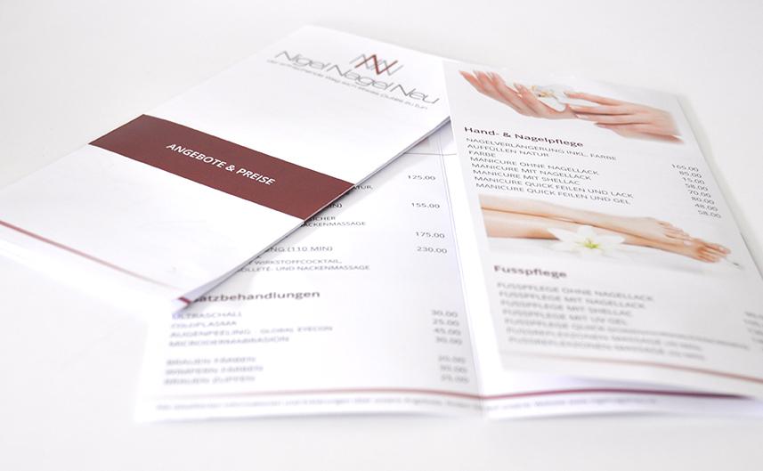 Arbeiten von Kunden Printdesign