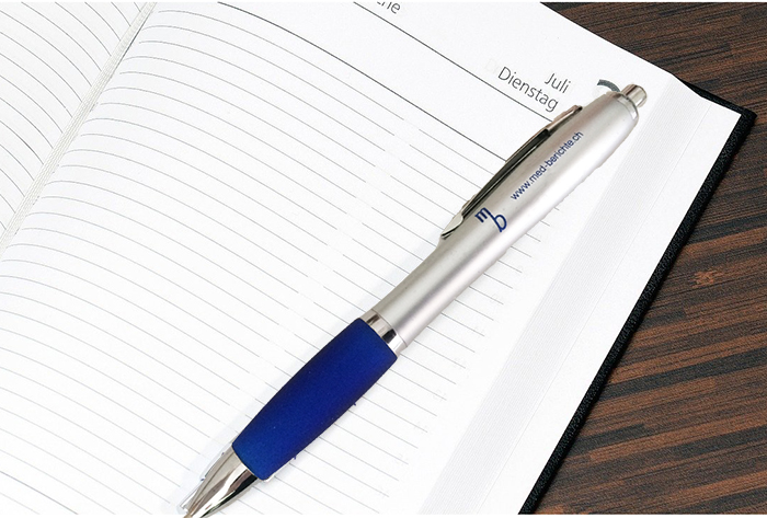Referenzen Kugelschreiber med-berichte